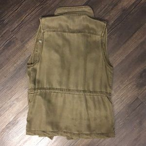 Max Jeans Jackets & Coats - Army Green Utility Vest